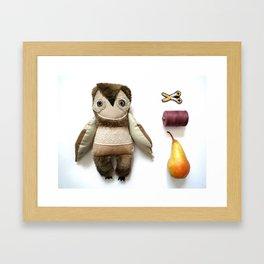 Brian owl Framed Art Print