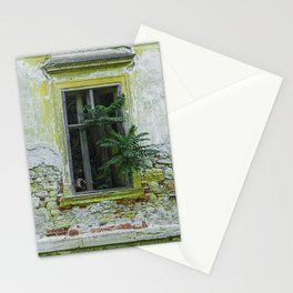 Lostplaces Window in castle Pottendorf Stationery Cards