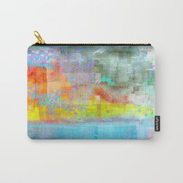 Broken Abstract Carry-All Pouch