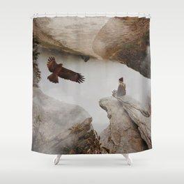 Women American Eagle by GEN Z Shower Curtain