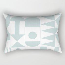 Astrid Modern Quilt Rectangular Pillow
