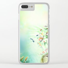 Fish watercolor Clear iPhone Case