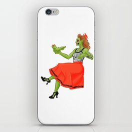 Zombie Contemplations iPhone Skin