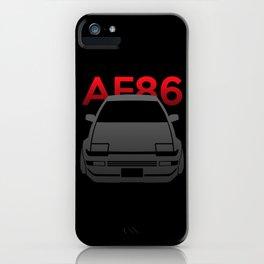 Toyota AE86 Hachi Roku iPhone Case