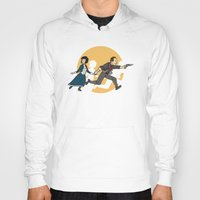 tintin Hoodies featuring TinTinfinite by Moysche Designs
