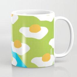Eggsellent (blue + green) Coffee Mug