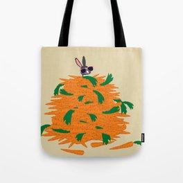 Cool bunny Tote Bag