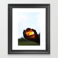 FOUR(S)TAR FOUND. Framed Art Print