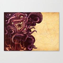 Shoggoth Canvas Print