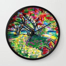 Librarian's Tree Wall Clock