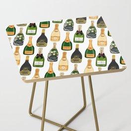 Champagne Bottles Side Table
