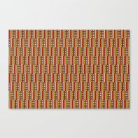 africa Canvas Prints featuring Africa by Okopipi Design