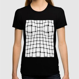 intertwined bands T-shirt