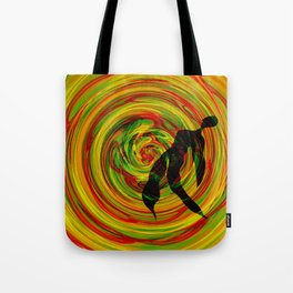 color tunder Tote Bag