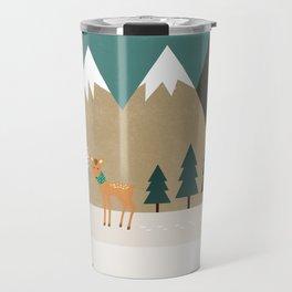 Hello winter Travel Mug