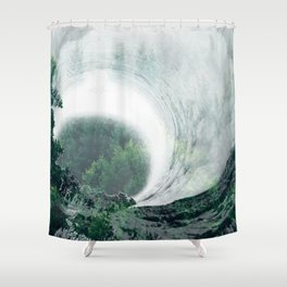 Infinite Forest Shower Curtain