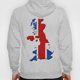 great britain map Hoody