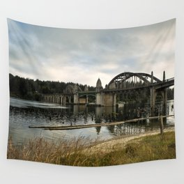 Siuslaw River Bridge Wall Tapestry
