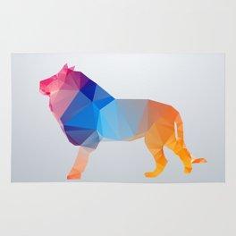 Glass Animal Series - Lion Rug
