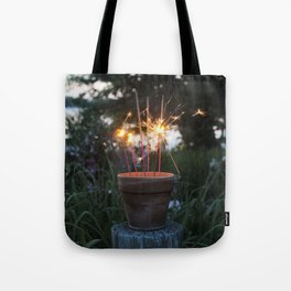 Let Your Creative Sparks Grow Tote Bag