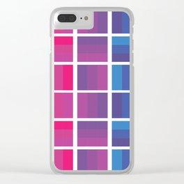 Bi Grid Clear iPhone Case