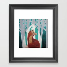 Fox Cathedral Framed Art Print