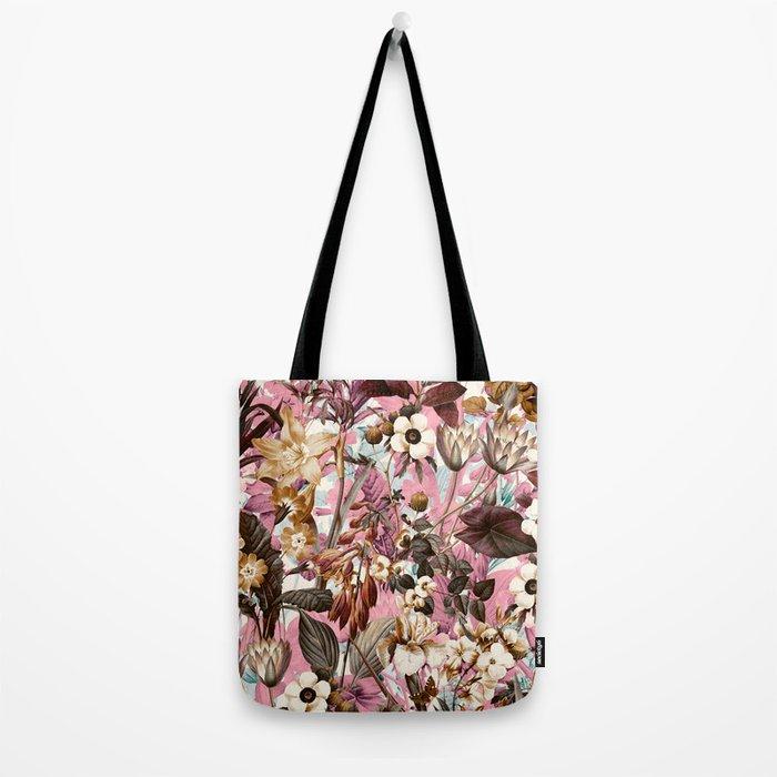 Natural Summer Pattern Tote Bag