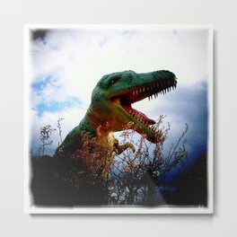 The Dinos of Canada Metal Print