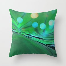 Moons Rise Over Triton Throw Pillow