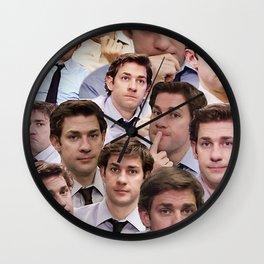 Jim Makes The Face Wall Clock