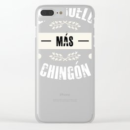 El abuelo mas chingon tee mexican grandpa grandad Clear iPhone Case