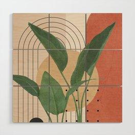 Nature Geometry V Wood Wall Art