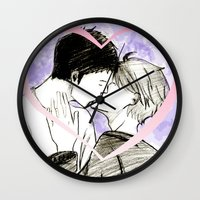 haikyuu Wall Clocks featuring Daisuga Haikyuu!! by Pruoviare