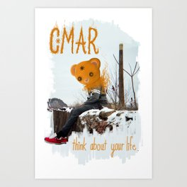 "A Bear Named ""Dee"" Art Print"
