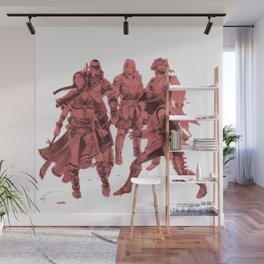 The Squad Wall Mural