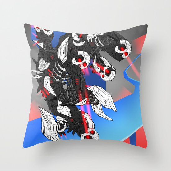 ULTRACRASH 3 Throw Pillow