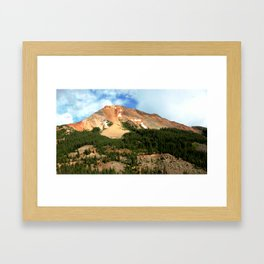 The Famous Gold Mines of Red Mountain Framed Art Print