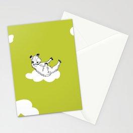 Flying Bear by McKenna Sanderson Stationery Cards