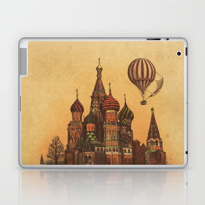 Moving to Moscow Laptop & iPad Skin