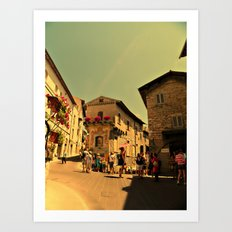 La Bella Italia. Art Print
