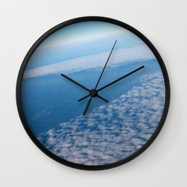 From Up Above Wall Clock