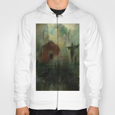 The crow and the Scarecrow Hoody