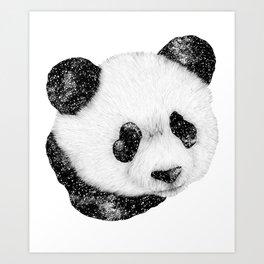Cosmic Panda Art Print