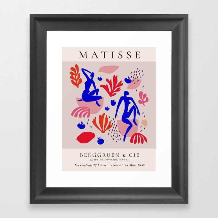 Matisse  inspired Gerahmter Kunstdruck