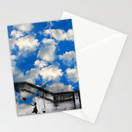 A Balloon to the Wind Stationery Cards