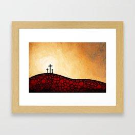 Forgiven - Christian Art By Sharon Cummings Framed Art Print