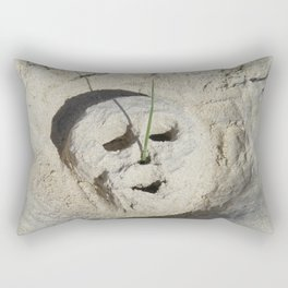 Face without the masks Rectangular Pillow