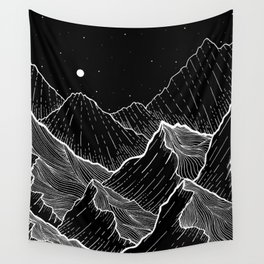 Sea mountains Wall Tapestry