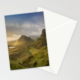 Sunrise Over the Quiraing III Stationery Cards