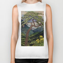 The Downwards Climbing Biker Tank